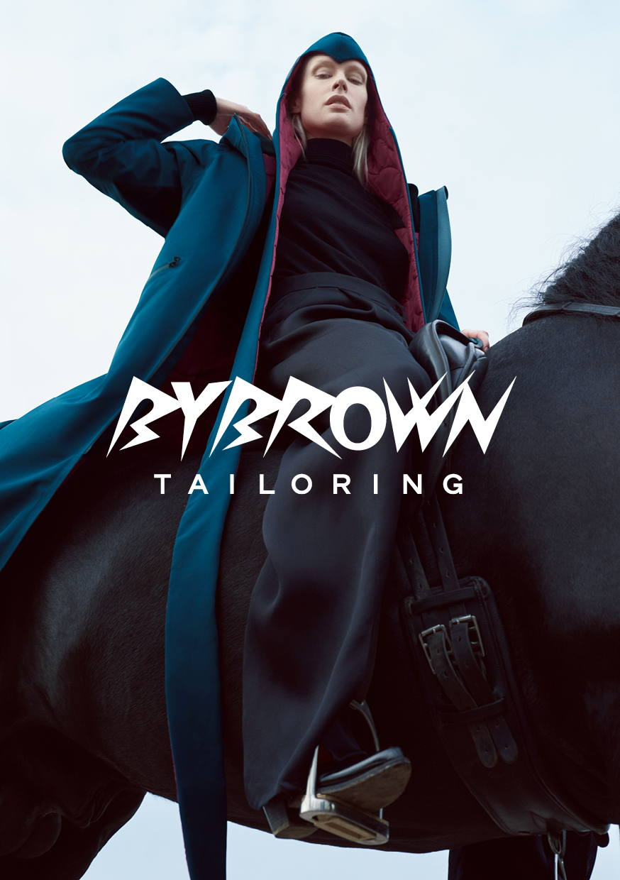 Campaign for Bybrown  by Pawel Pysz represented by stoever artists