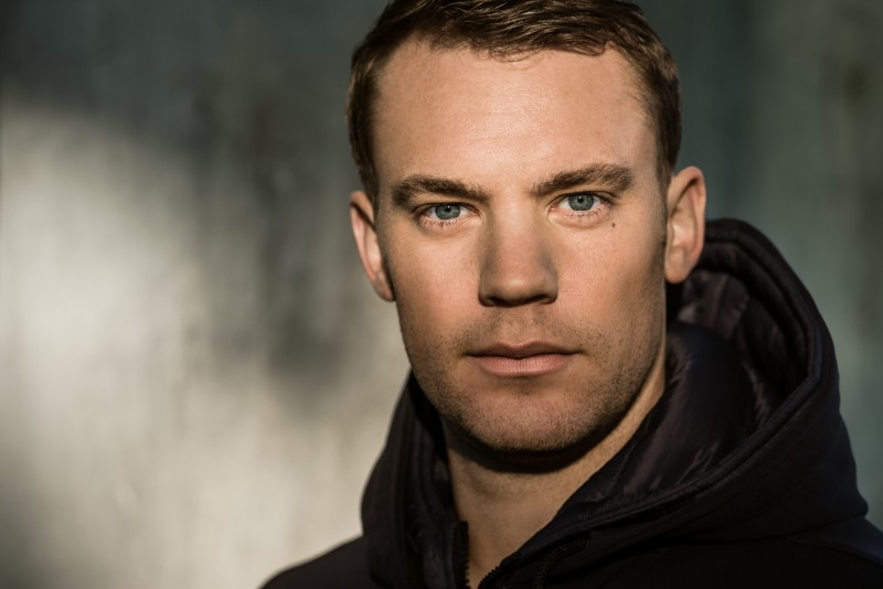 Manuel Neuer by Christian Brecheis represented by stoever artists