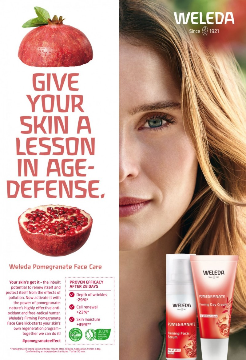 Weleda Campaign by Astrid Grosser represented by stoever artists